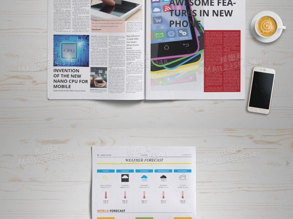 廣告內刊內頁設計企業文化排版排版模板模板設計版式