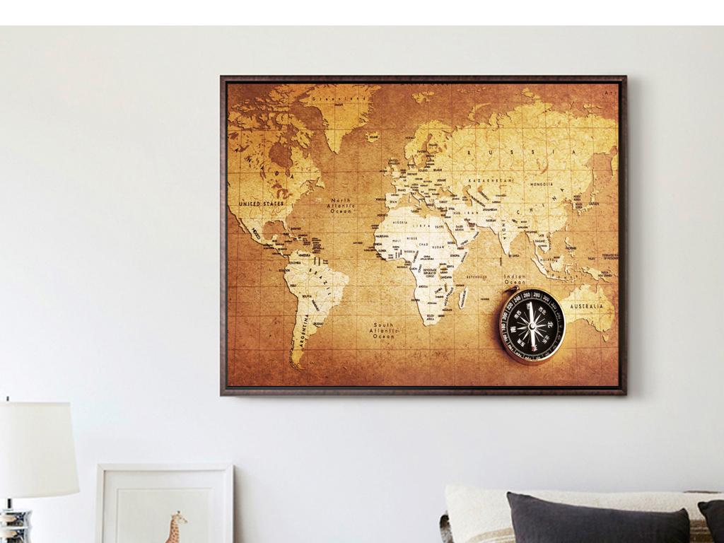 墙体中国地图加边框