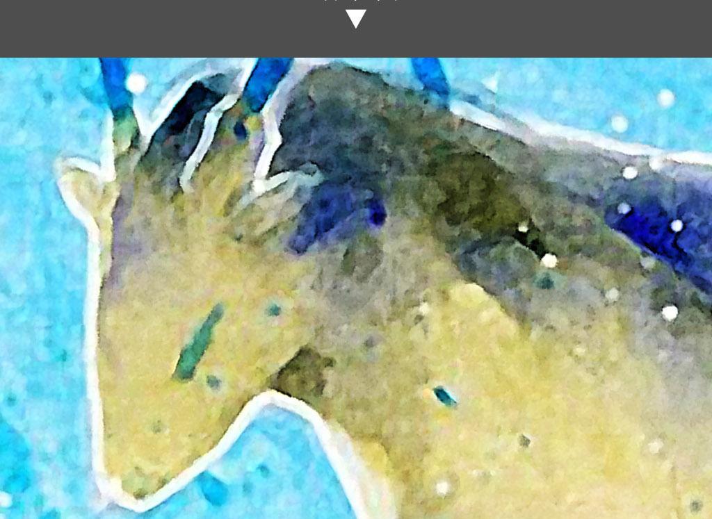 麋鹿北欧简约手绘水彩日韩治愈系欧式装饰画
