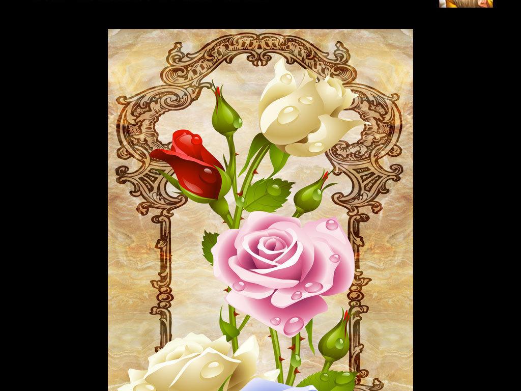 我图网提供精品流行玄关3D玫瑰花素材下载,作品模板源文件可以编辑替换,设计作品简介: 玄关3D玫瑰花 位图, RGB格式高清大图,使用软件为 Photoshop CS6(.psd) 3D立体空间欧式玫瑰玄关背景墙装饰画电视背景墙 国画