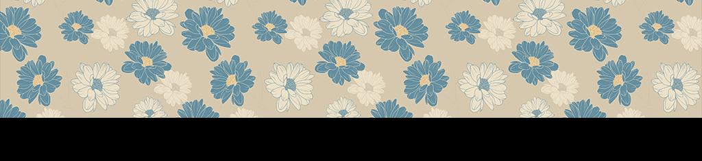 极简手绘花朵壁纸背景图