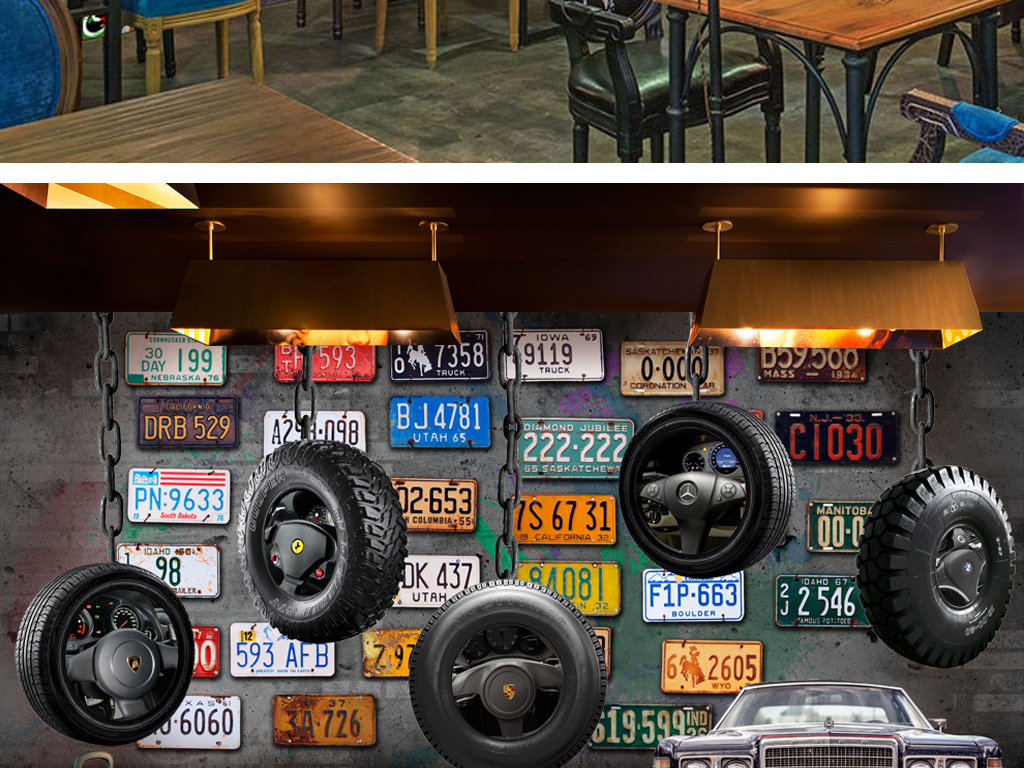行李箱挂轮                                  汽车轮胎