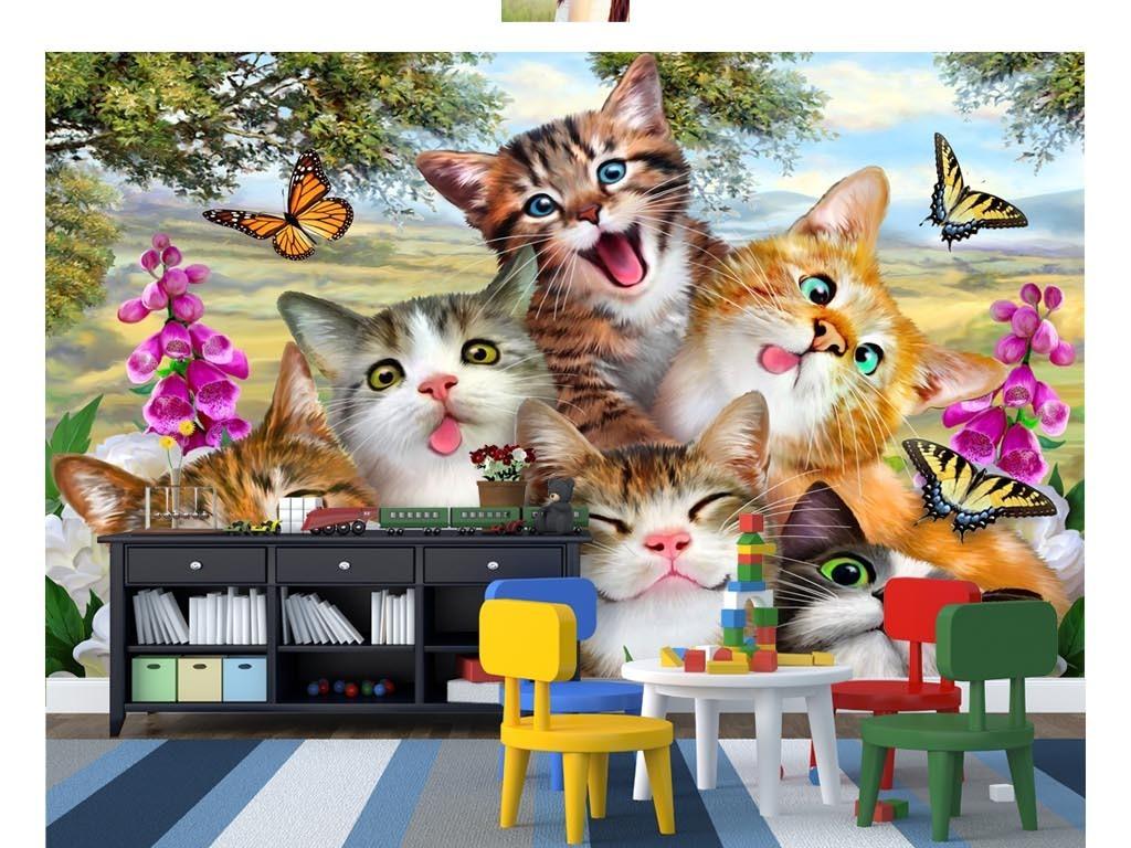 可爱小猫简易画法