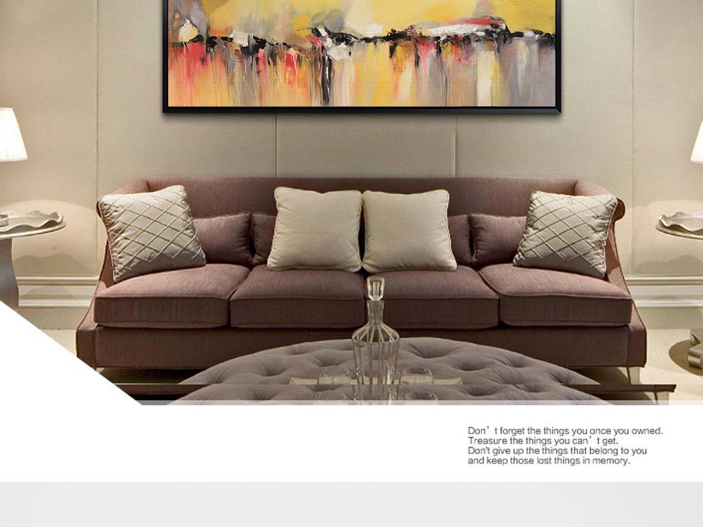 欧式抽象裂纹图案油画无框画欧式抽象立体油画创意