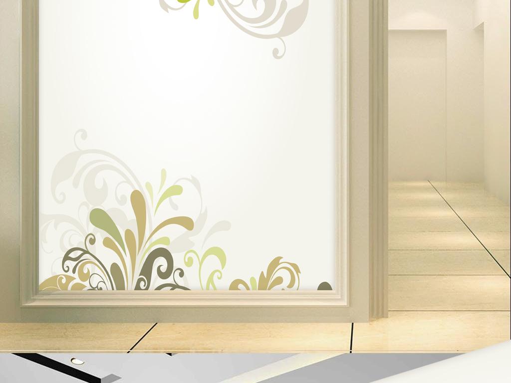 客厅电视背景墙壁画装饰画简约时尚浪漫高雅