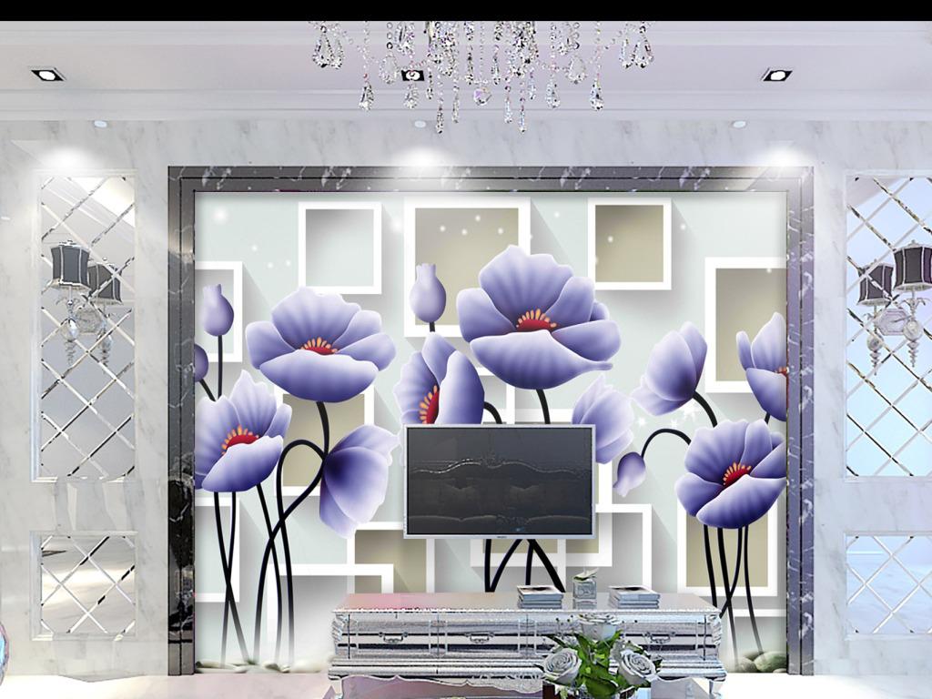 幼儿园壁画壁画图片3d壁画电视背景墙壁画玄关背景壁