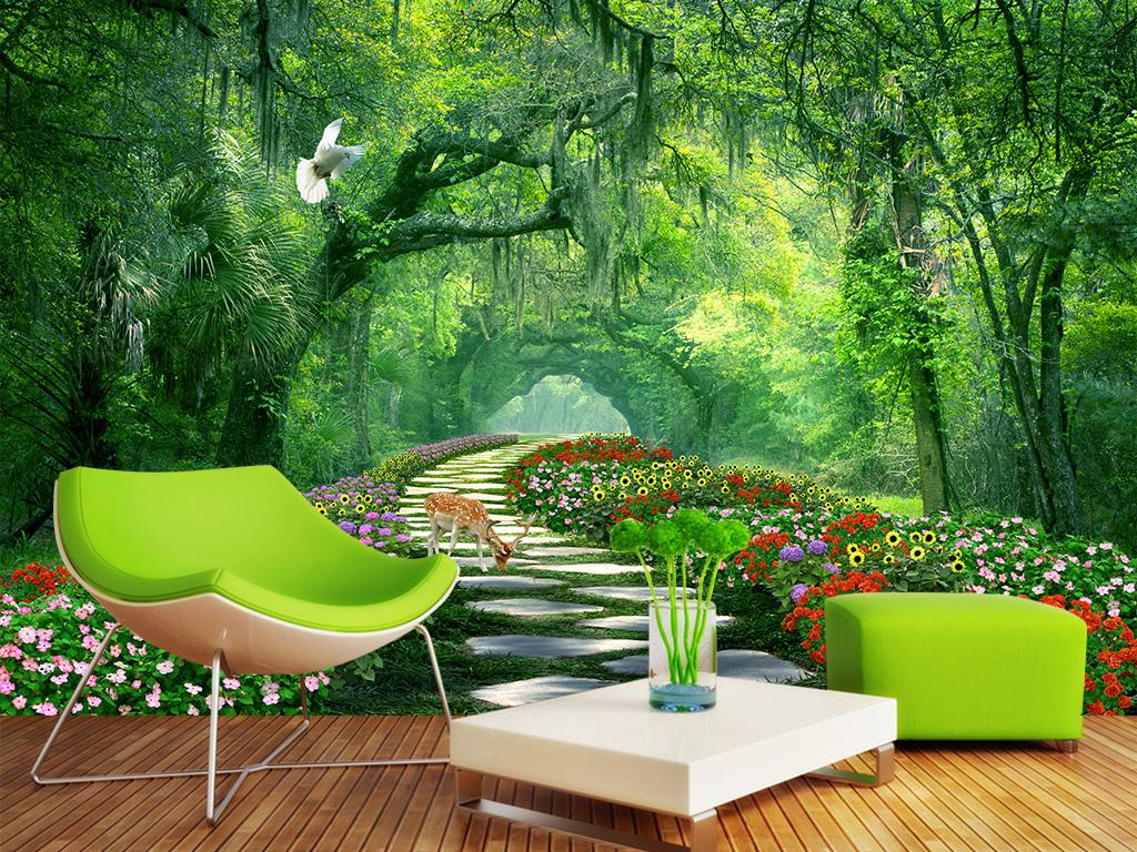 风景园林手绘树丛