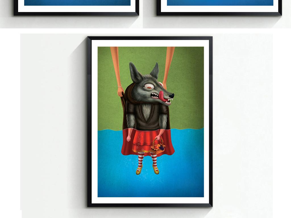 动物主题墙边框
