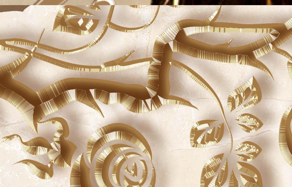 欧式花纹浮雕