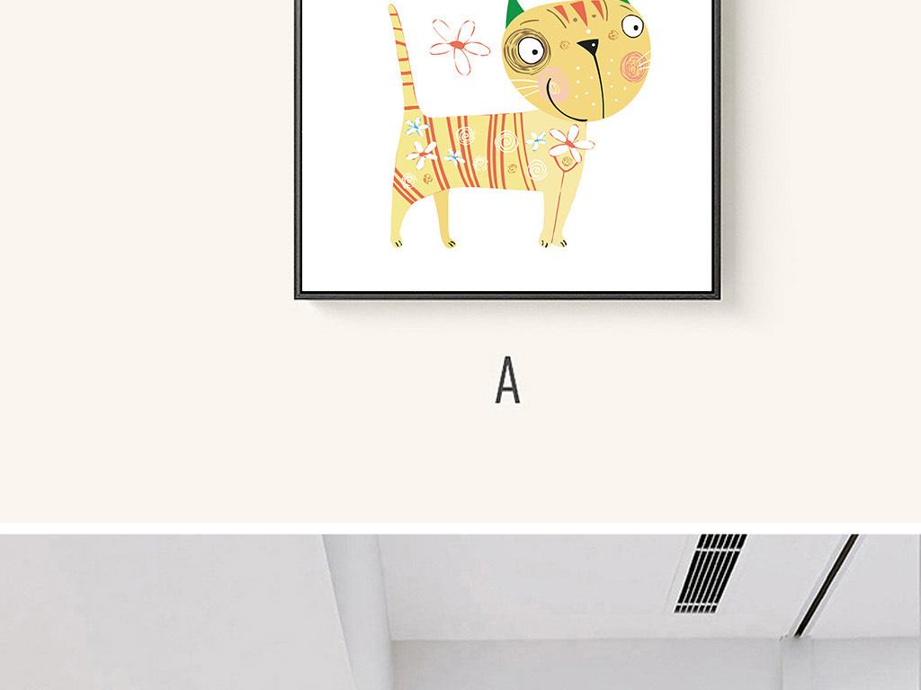 手绘pop字手绘海报手绘效果图手绘pop海报手绘猫咪猫手绘手绘卡通猫
