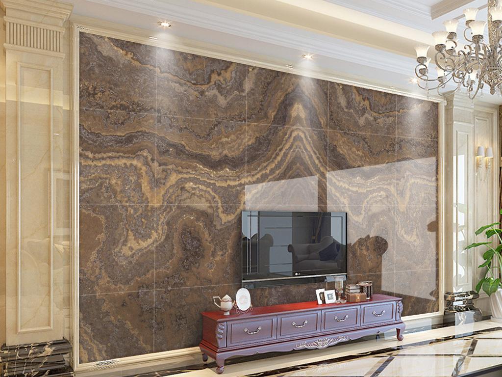 大理石纹皇室石材背景墙