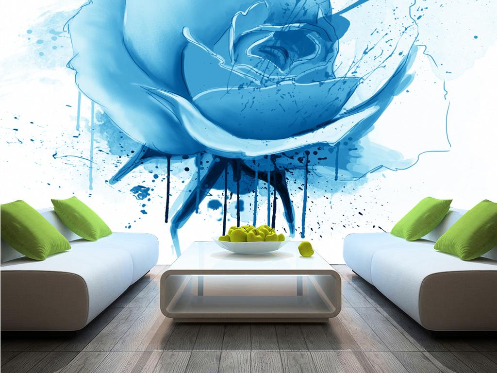 壁纸壁画墙纸客厅床头卧室