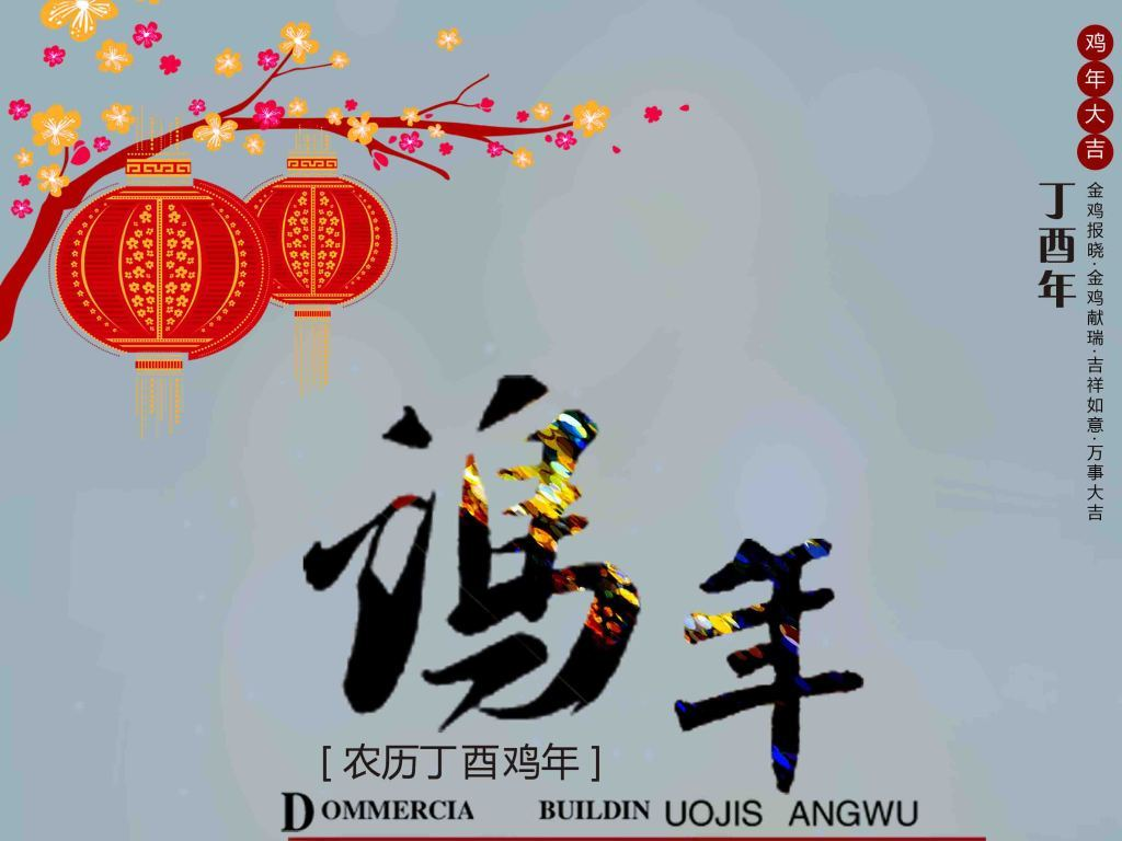 鸡年新春画报 15847940