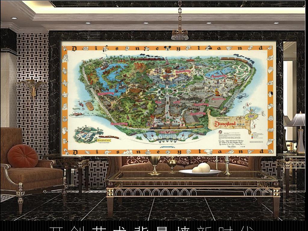 我图网提供精品流行古典风1958年美国迪士尼手绘地图背景墙素材下载,作品模板源文件可以编辑替换,设计作品简介: 古典风1958年美国迪士尼手绘地图背景墙 位图, CMYK格式高清大图,使用软件为 Photoshop CS4(.tif不分层) 迪士尼乐园地图 迪士尼导游图