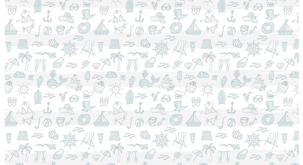 北欧简约现代简单图案手绘动物全屋背景墙
