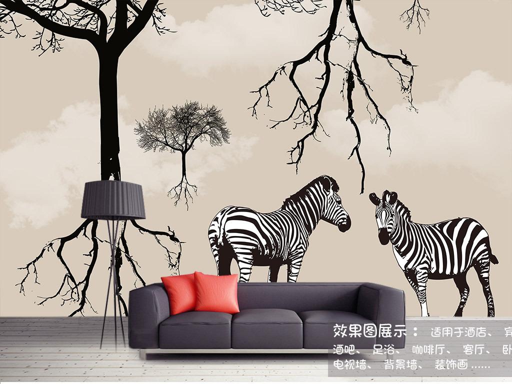 北欧风格壁画北欧现代风格北欧风格电视背景墙北欧风格装饰画北欧风格图片