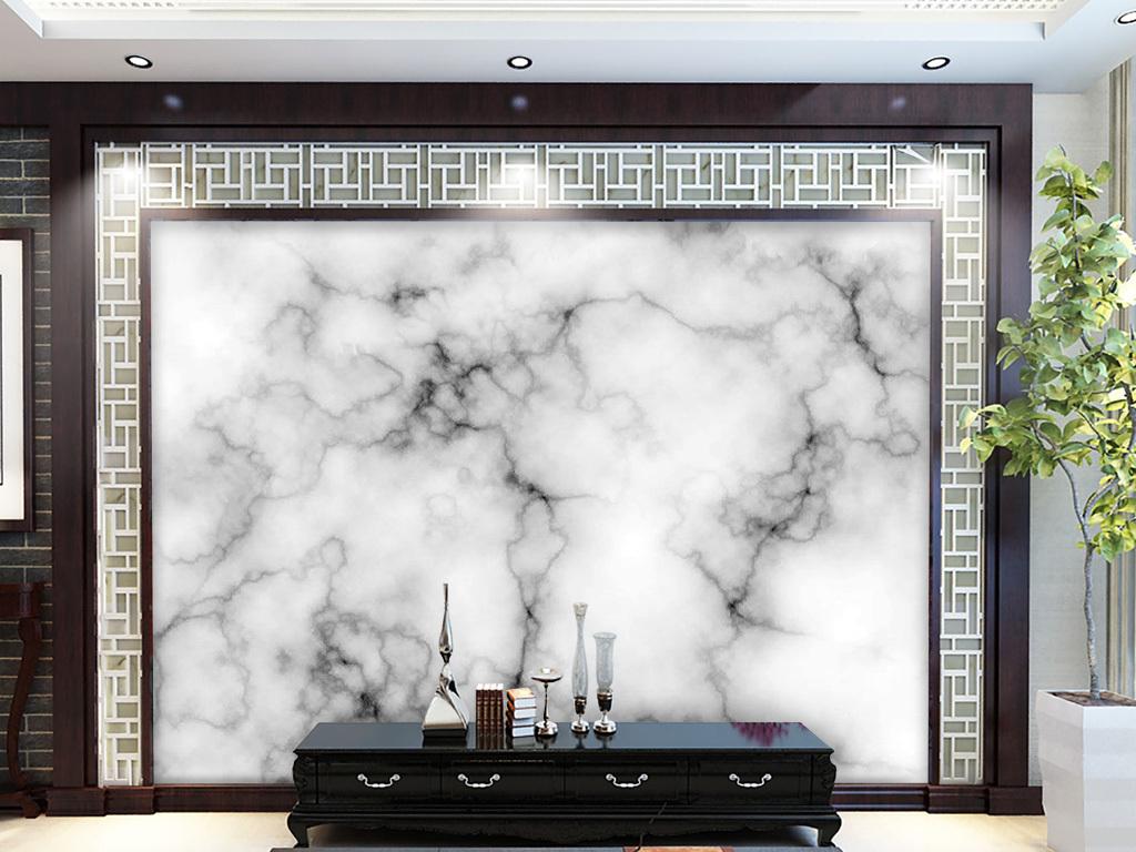 电视背景墙 大理石背景墙 > 超高清白色大理石背景墙壁画玉石图片