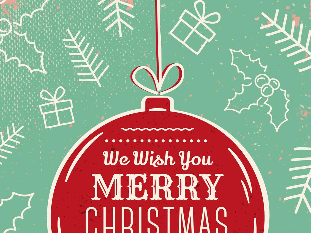 圣诞礼物圣诞树圣诞晚会圣诞派对创意海报