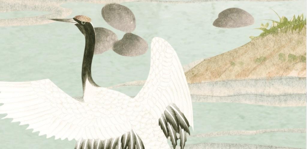 经典花鸟图中式手绘花鸟手绘花富贵花开花鸟手绘富贵花鸟富贵鸟花手绘