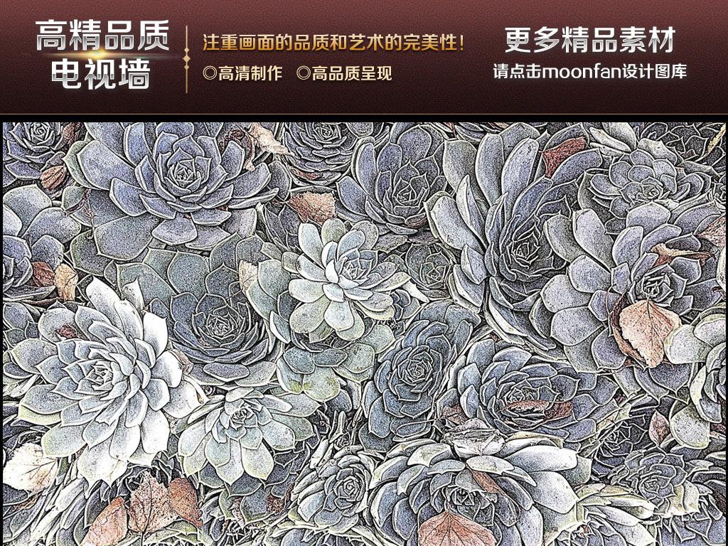 我图网提供精品流行花卉背景墙壁画欧式壁画田园