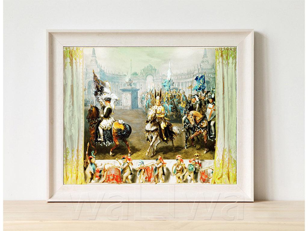 我图网提供精品流行高清手绘欧式古典写实