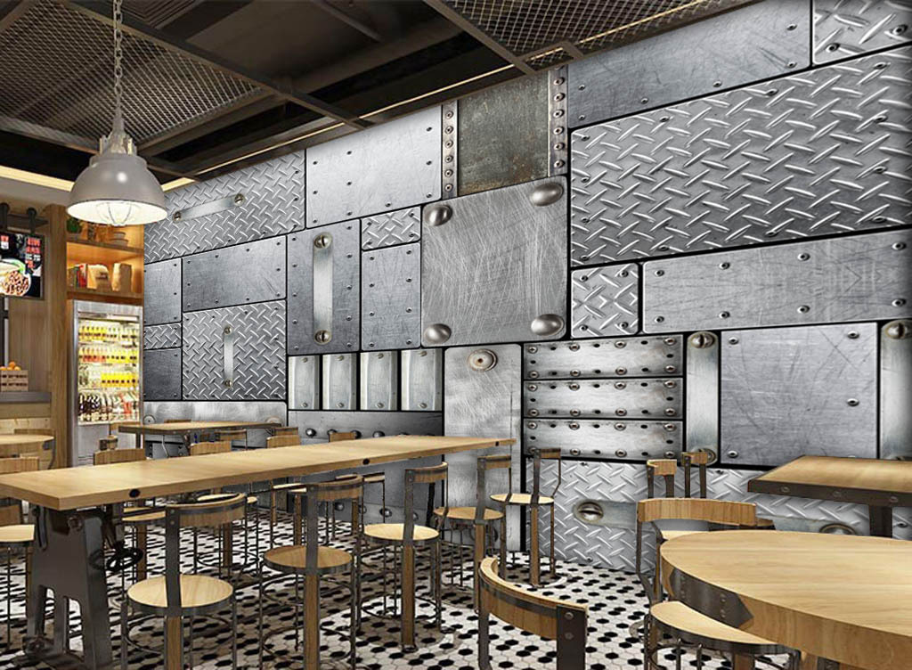 西餐厅欧式背景墙