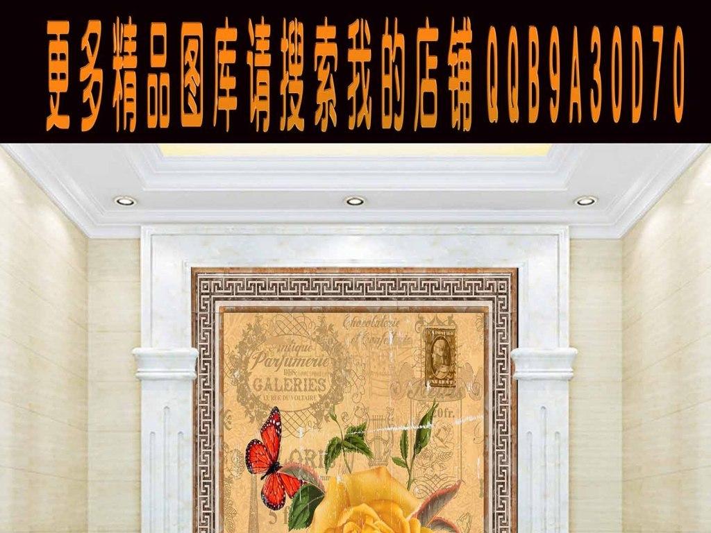 我图网提供精品流行2016高清欧式复古花卉