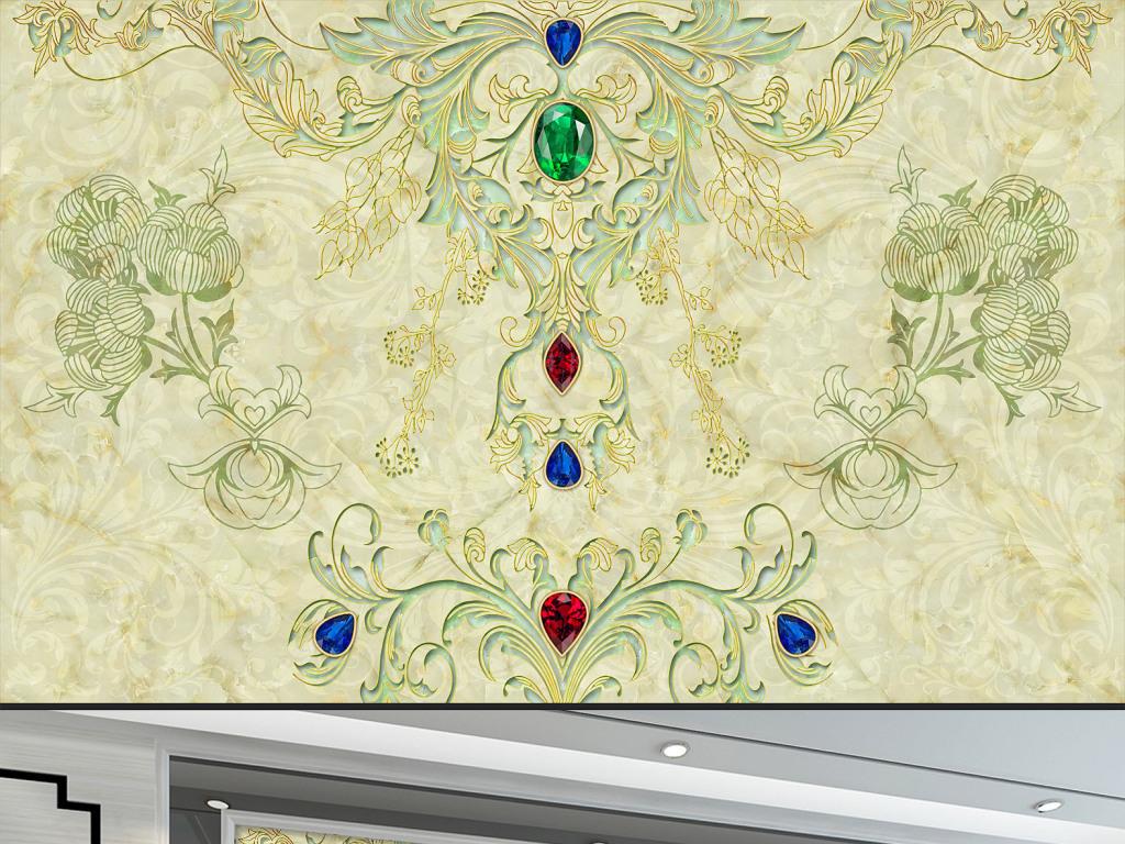 古典花纹欧式花纹边框欧式花纹花边矢量图欧式花纹