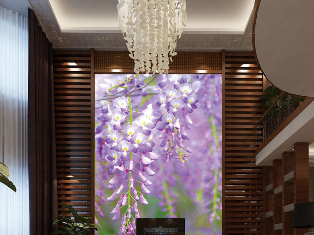 紫色欧式别墅图片大全