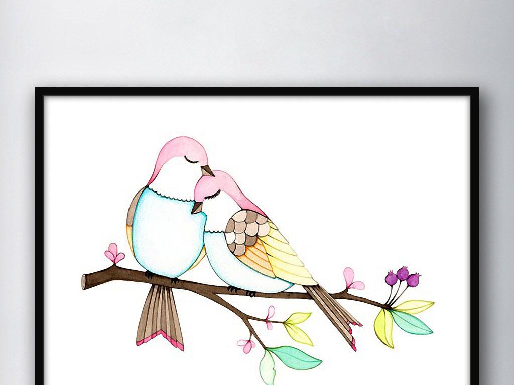 风水现代高清装饰画挂画无框画作品图片简约欧式简约