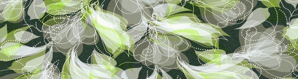 手绘花朵大理石地板地砖素材