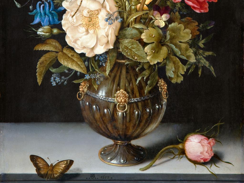 欧式古典静物花卉油画(图片编号:15867637)