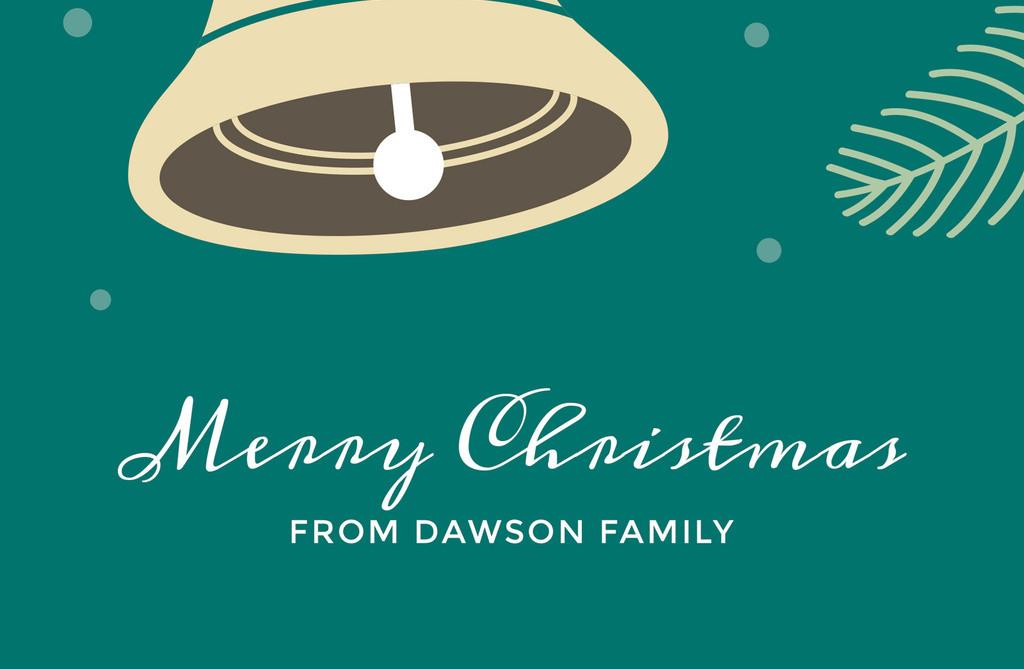矢量简约可爱圣诞节海报模板