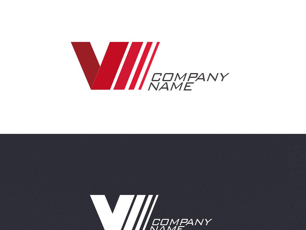 v字母logo