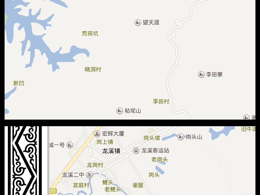2016高清河源市电子版地图图片下载