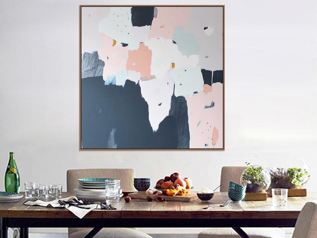 位图, rgb格式高清大图,使用软件为色块色斑涂鸦抽象油画书房餐厅可爱
