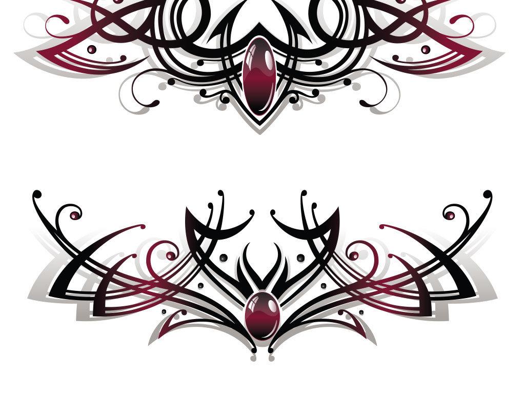 边框元素简约欧式花纹欧式花纹ps海报素材我图网图库