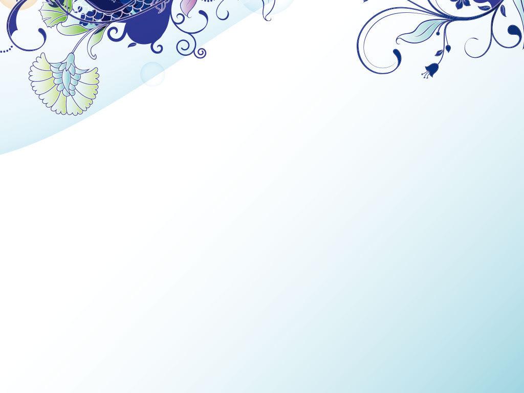 水彩花朵                                  底纹背景手绘花朵