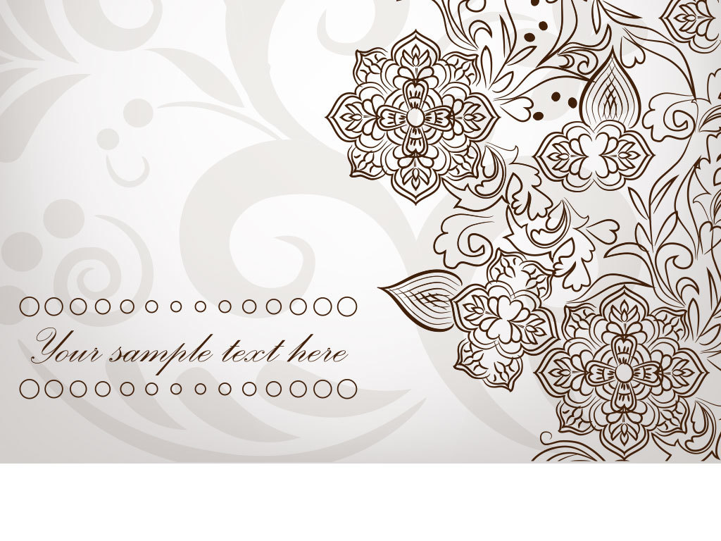 欧式花纹ps海报素材我图网图库卡通设计元素复古背景