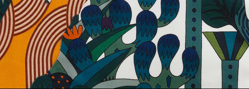 抽象森林树木装饰画