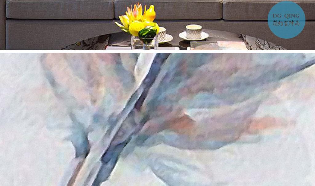 别墅装饰画水彩画无框画挂画画芯图片水彩现代欧式欧
