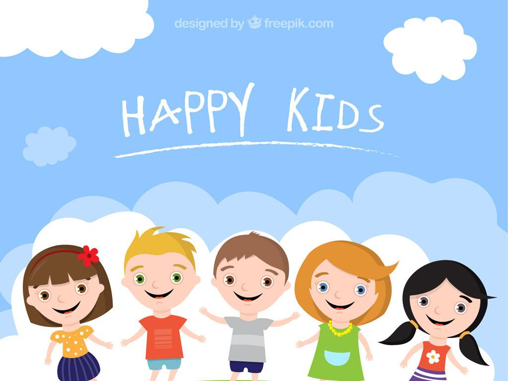 卡通插画人物儿童人物可爱小男孩小男孩图片卡通小男