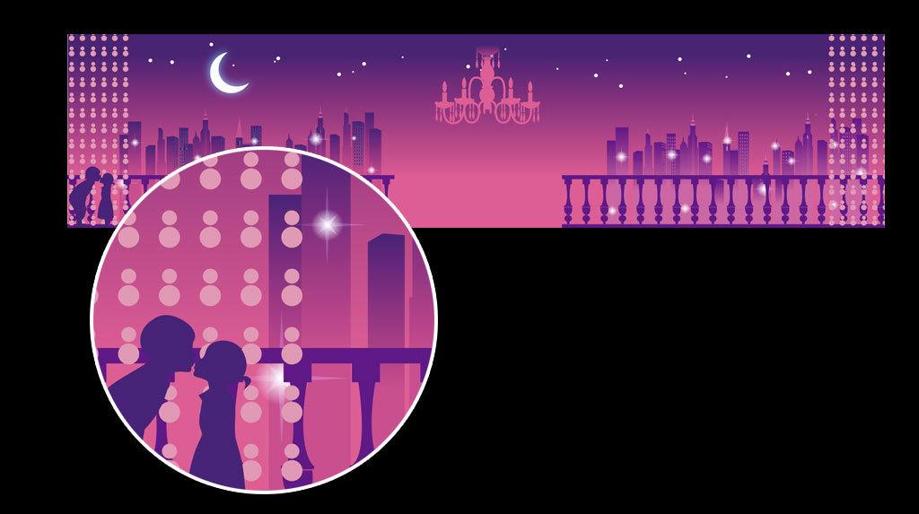 我图网提供精品流行浪漫都市星空爱情婚礼舞台背景素材下载,作品模板源文件可以编辑替换,设计作品简介: 浪漫都市星空爱情婚礼舞台背景素材 矢量图, CMYK格式高清大图,使用软件为 Illustrator CS6(.ai)