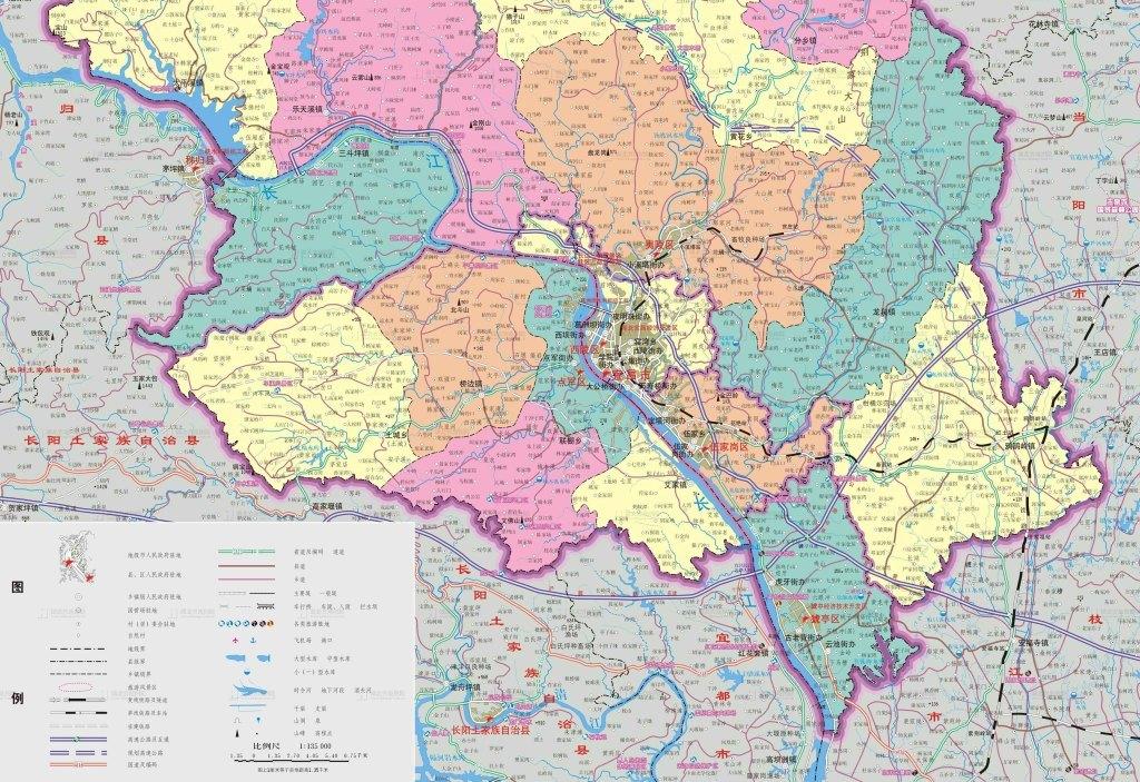 宜昌市地图高清大图