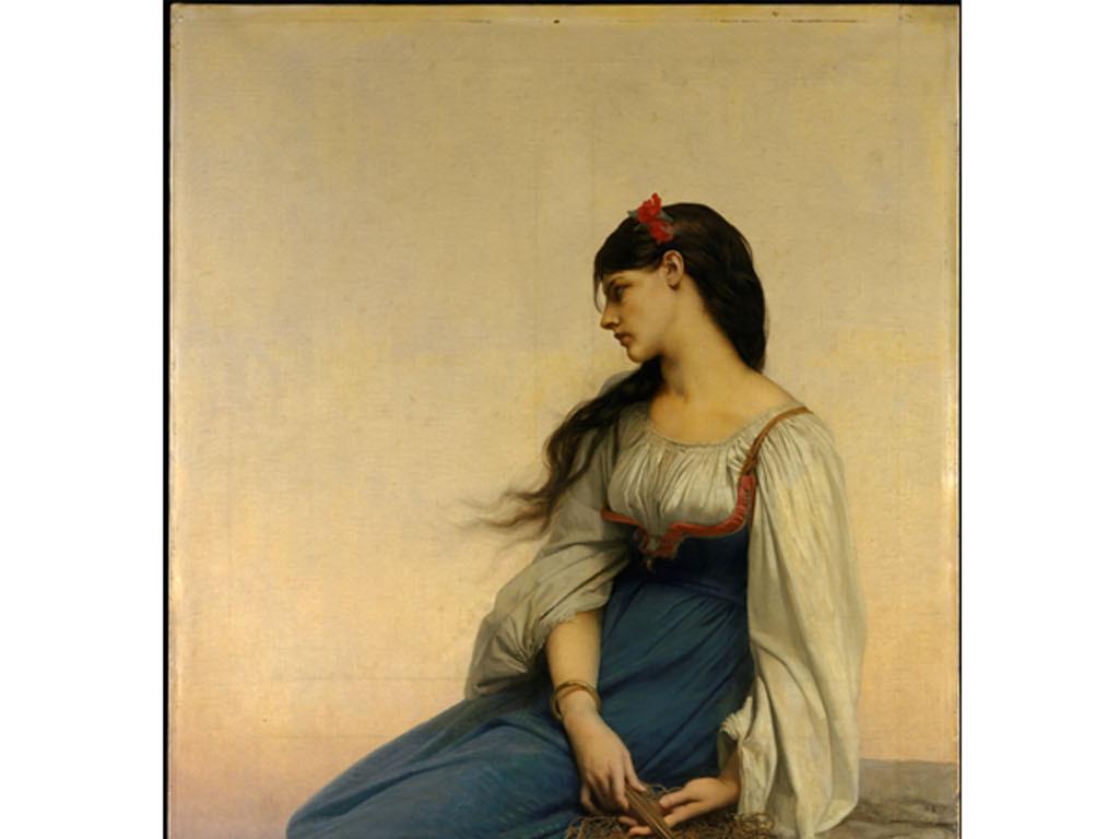 色彩人物古代美女