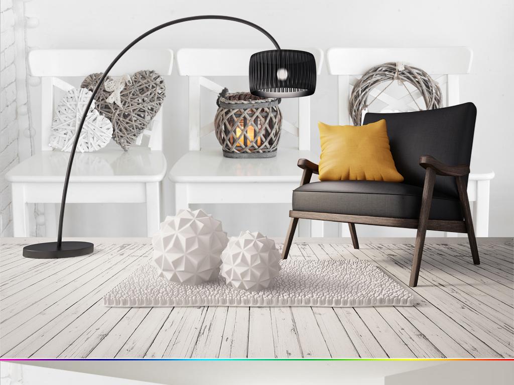 欧式床头椅图片
