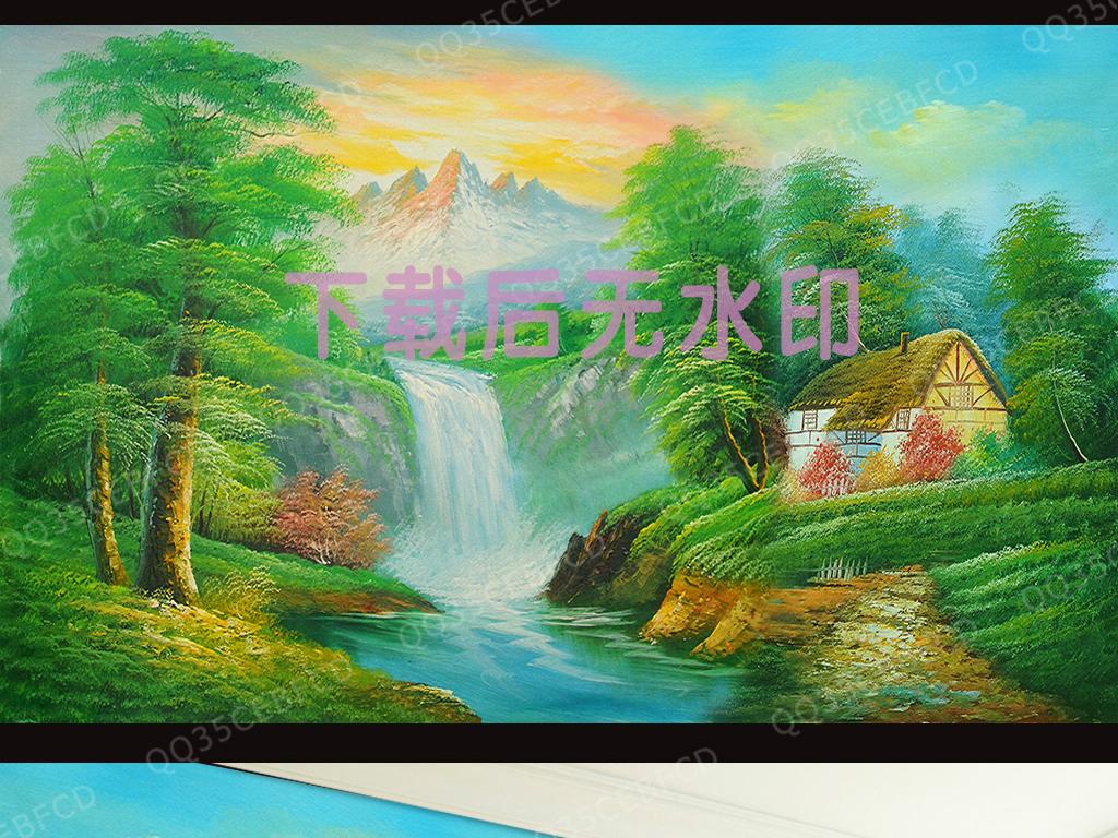 风景招财手机壁纸