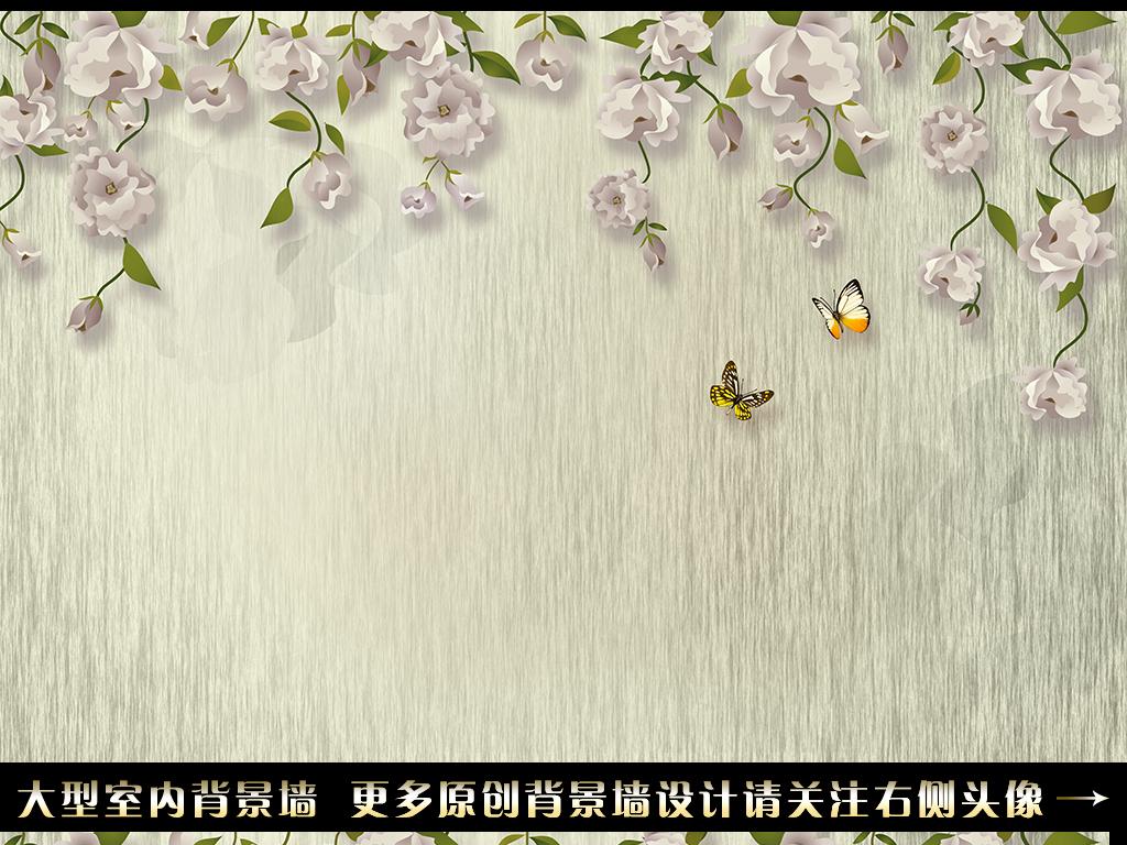 手绘花藤                                  蔷薇