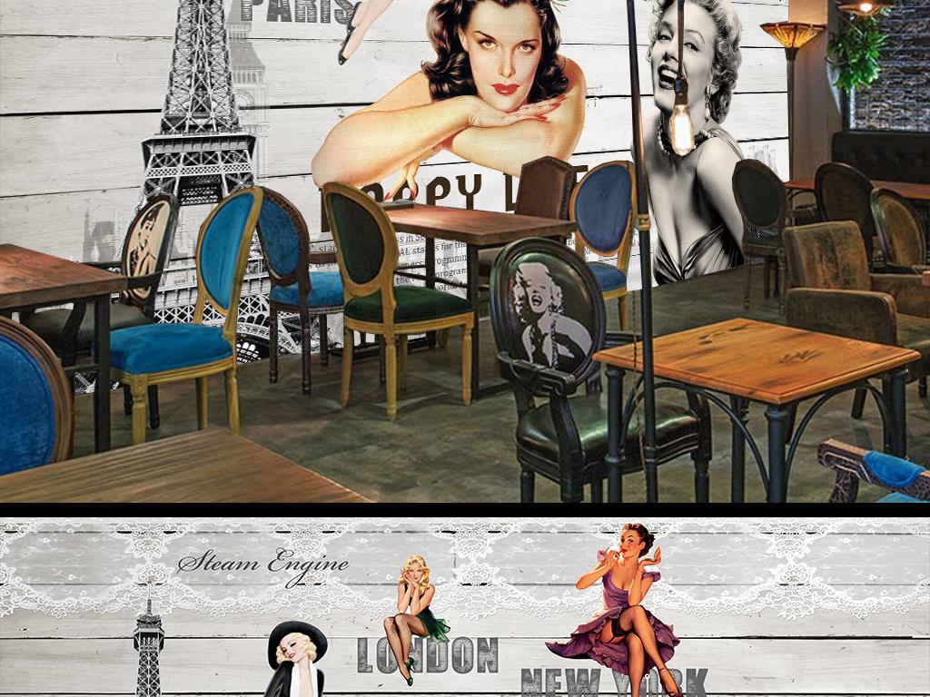 瓷砖 磁砖 黑白 怀旧 欧式 复古 酒吧 KTV 咖啡厅 工装 古典 人物 照片 咖啡 梦露 木板 法国 英伦 英国 美国 美女 古典美女 简约怀旧 蕾丝 电影 装饰画 欧式背景 欧式美女 木板背景 经典 经典欧式 木板美女 欧式经典