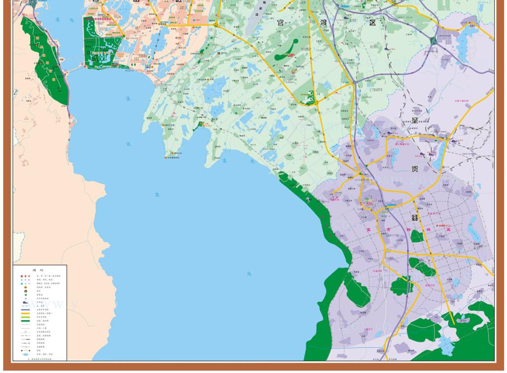 昆明市地图云南
